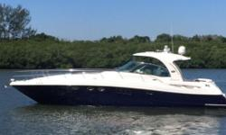 2008 52' Sea Ray Sundancer -- Well Maintained Blue Hull Vessel -- Powered with Upgraded MAN 800 DieselsLoaded with Options: Hydraulic Swim Platform, Cockpit A/C + Heat, Bow Thruster, Underwater Lights, Satellite TV, Washer / Dryer + Much More!!Spacious 2
