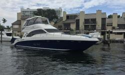 ***BEST PRICED 2008 58 SEDAN BRIDGE IN U.S.*** ***EASY TO SHOW @ PIER 66 MARINA*** ***1000 Hour Service Being Preformed***  KEY FEATURES: MAN 900'S COMMON RAILS Full beam Master Stateroom Bridge air conditioning Extended