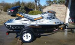 2008 SEADOO RXP-X (with Haul Rite trailer) 255 h.p. Supercharged All stock 49 hours Always garaged 1 owner Maintenance records available LAKE READY!! $8500/obo 308 380 2149