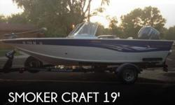 Actual Location: Sioux Falls, SD - Stock #088343 - If you are in the market for a bowrider, look no further than this 2008 Smoker Craft 192 Ultima, priced right at $24,000.This boat is located in Sioux Falls, South Dakota and is in great condition. She is