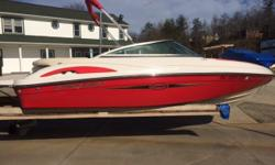 Beautiful bow rider kept in dry storage for it's entire life. Interior in immaculate condition. Comes with a 4.3 liter V-6 Volvo Penta. Beam: 8 ft. 6 in.