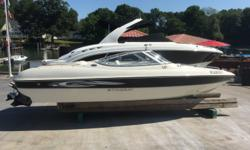 08 Stingray 185 lx 3.0 Volvo with SX drive. 100 hour indoor kept boat. Stereo Depth finder Snap on covers Bimin top This boat does not have a trailer. A new or used trailer can be sourced for it or delivery can be arranged. Beam: 7 ft. 1 in. Fuel tank