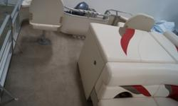 2008 Sun Chaser 8524 GREAT FISHING BOAT!!! -DOCKING LIGHTS -CHANGING ROOM -LIVE WELL -REAR SWIM LADDER -ROD HOLDERS -TROLLING MOTOR QUICK RELEASE PLUG -TROLLING MOTOR FRONT 1/2 GATE -EAGLE CUDA-300 FISH FINDER/DEPTH FINDER -STERN TABLE -LARGE SUN PAD -4