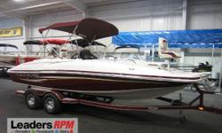 2008 Tahoe® 215 DB NICE 2008 TAHOE 215 DECKBOAT WITH TRAILER INCLUDED!   A 190 hp Mercruiser 4.3L V6 powers this nicely equipped fiberglass deck boat.   Features include:  Minnkota Power Drive V2 55 lb thrust 12-volt trolling