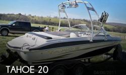 Actual Location: Tulsa, OK - Stock #096211 - This vessel was SOLD on April 12.You are looking at a well-cared for 2008 Tahoe Q6S. She is all boat and well ready for the water this season!The Q6S strikes you right off the bat with a huge integrated swim