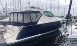 This boat is one-of-a-kind. Custom blue Awlgrip paint, custom award-winning canvas design and meticulously maintained (with maintenance log). Check out all the upgrades! This boat will meet all of your expectations and more. Fresh water and always stored