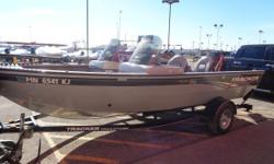 This is a new arrival. 2008 Tracker Pro Guide 175 dual console. Outfitted with a 90 hp Mercury 2-stroke and much more. Call the Tracker Boating Center Fargo for more details and pricing. Nominal Length: 17' Length Overall: 17' Beam: 8