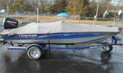 SUPERB CONDITION THIS BEAUTY WILL IMPRESS YOU! 50 MECURY OIL INJECTED, FACTORY TRAILER, ALL LIVEWELLS AND SEATS, TWIN FISHFINDERS, BOW TROLLING MOTOR, TWIN BATTERIES, TIE DOWNS AND BOAT COVER PLUS SPARE! COMES WITH A GUARANTEE TOO! Engine(s): Fuel Type: