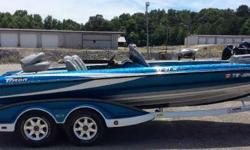 VERY CLEAN 2008 TRITON TR21X HP THIS IS A ONE OWNER 2008 TRITON TR21XHP. THE BOAT IS VERY CLEAN AND ONLY HAS 287 HOURS. THE BOAT INCLUDES A MINN KOTA FORTREX 80 TROLLING MOTOR, 3 BANK PRO CHARGER, 2 LOWRANCE DEPTHFINDERS, HAMBY'S KEEL PROTECTOR, ALUMINUM