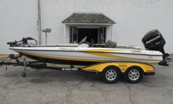2008 Triton TR 20X equipped with a Mercury 250 hp ProXS and Minn Kota Fortrex 36V trolling motor with 101 lbs. of thrust. Boat includes Lowrance HDS 5 in dash, Lowrance HDS 5 in bow, both units networked to Lowrance Structure Scan hub, tandem axle