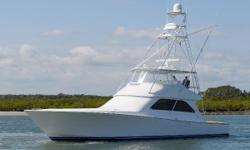 "This boat is Captain maintained and with only two fastidious owners. Current owner also owns a boatyard and has spared no expenses. ""How Sweet It Is"" only has 25 hours on her CAT's. Fresh overhauls with 2 years of warranty. Recent Upgrades: 2017 Ship"