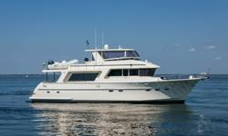 """Accommodations """"MCBREAK"""" represents the Endurance Series of Yachts by Hampton at it's best by exceeding the highest stability criteria for yachts. This Hampton Hybrid Hull represents a new standard for safety comfort and efficiency in a long range"""