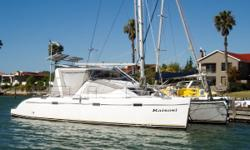 Duty not paid, not for sale to US buyers in US waters. KAISOSI is one of the last Admiral Executive 40 built. The Admiral Executive was one of the best custom/production catamarans ever imagined. The concept was was to build a top tier fully custom