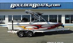 2009 Calabria Cal-Air Pro V II Payments as low as $391 / mo. * Calabria introduced the Pro V II, a wakeboarding machine that screams for attention. Not only is it one of the most spacious boats around - something any rider and posse can appreciate - it