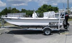 *******NICE SHALLOW WATER SKIFF, PRICED RIGHT****** THIS IS A NICE CONDITION 2009 CAROLINA SKIFF 1765 DLX THAT IS POWERED BY A NICE SUZUKI DF60 FOURSTROKE AND EQUIPPED WITH THE FOLLOWING OPTIONS: * SUZUKI DF60 * STAINLESS STEEL PROP * SPARE ALUMINUM PROP