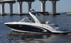 Very, very, very clean 2009 284 Sunesta with 150 hours and racked kept its entire life! Shows and looks like new, full canvas and winter cover and Furuno NAVnet plotter/radar! A must see! Nominal Length: 28' Max Draft: 3.3' Drive Up: 2.1' Engine(s): Fuel