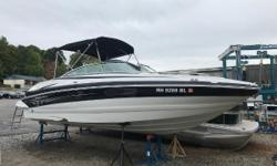 2009 CROWNLINE 240 LS WITH LOW HOURS! THIS IS VERY CLEAN AND WELL MAINTAINED 24 BOW RIDER. ITS POWERED BY A MERCRUISER 350 MAG MPI BRAVO 3, 300 HP ENGINE WITH A GENTLE 157 HRS OF USE ON LAKE WINNI. IT ALSO COMES WITH SNAP IN CARPET, COCKPIT AND BOW
