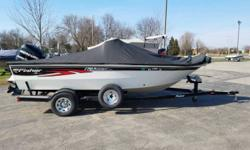 THIS USED BOAT PACKAGE INCLUDES: 2009 FISHER 170 PRO AVENGER, 2009 MERCURY 90EXLPTO OPTIMAX,   2009 TRAILSTAR BUNK TRAILER,  MINNKOTA POWER DRIVE V2, LOWRANCE DIGITAL DEPTH FINDER, SWIM PLATFORM WITH LADDER, COVER, SWING TONGUE