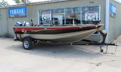 2009 G3 V162T with a Honda 25HP tiller, Yamaha Kicker, and Trailer The all-new Angler V162 series sets a new standard for fishermen looking for an economical choice in fully-featured, fuel-efficient models. Generous lockable storage, easy care vinyl