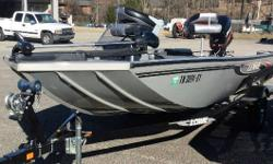 CONSIGNMENT LOWE 175 STINGER THIS IS A VERY CLEAN ONE OWNER 2009 LOWE 175 STINGER. THIS IS A BOAT WE SOLD NEW. IT IS IN EXCELLENT CONDITION. INCLUDES A MERCURY 50HP ENGINE, TRAILER, 12 VOLT TROLLING MOTOR AND DEPTHFINDER. THIS BOAT IS IN GREAT SHAPE. IT
