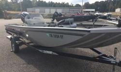 Very Clean 2009 ST175 24 volt Trolling motor, Helix 5 DI GPS, on board charger and other options. Designed to multi-species fishing specifications, this super-wide 85 inch wide hull is one of the most stable fishing platforms available - all while running