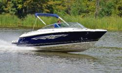 You are viewing a 2009 Monterey 234 FS edition bowrider. This boat is clean with signs of being well maintained. Boat has been kept under covered storage all of its life.     Hull: overall appears to be in excellent