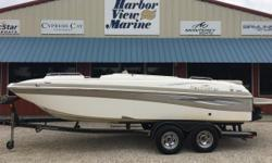 Harbor View Marine brings you this 2009 Nautic Star 223 SC deck boat! Located on the Florida/ Alabama gulf coast, this beautiful 2009 Nautic Star 223 SC deck boat is powered by a Mercruiser 4.3L motor with only 101 hours! This 223 Nautic Star
