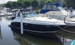 This fresh water beauty has been stored indoor heated well maintained powered by twin Merc 5.0L MPI BravoIII141STRB141 Port engine hours, generator,a/c heat,windlass, cherry floor package, new cockpit fridge, stereo,1