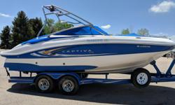 2009 MERCRUISER 350 MAG 300HP2009 HERITAGE TANDEM AXLE TRAILER Engine(s): Fuel Type: Gas Engine Type: Stern Drive - I/O Quantity: 1