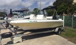 2009 Sea Fox 18cc with a Suzuki 115 four stroke! Boat has 270 hours and comes with a Garmin 4 inch GPS, trailer and stereo system! Also has Bimini top and is fight lady yellow! Beam: 7 ft. 8 in.