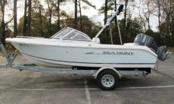 2009 Sea Hunt 186 Escape LE Dual Console & Yamaha 115 HP 4-stroke (320 Hours) & Venture Galvanized Steel Bunk Trailer - ON SALE! Reduced 1/20/16 for Winter Trade-In Used Sales Clearance! 2009 Sea Hunt 186 Escape LE Dual Console & Yamaha 115 HP 4-stroke