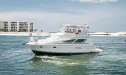 SALE PENDING 2009 Silverton 43 Sport Bridge Lady Lauren has spent most of her life in Freshwater having just moved to Florida for the past 2 Seasons and now back to Tennessee. It has about 550 hours on Twin Volvo IPS 500 370HP Diesels and about 740 hours