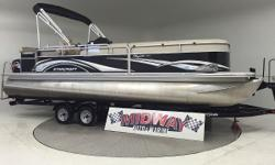 """Go to our web site for updated info: midwayautoandmarine.com. Over 75 used family boats in stock. All with warranty. Delivered all over the U.S. and Canada. Just traded in! Sweet condition """"Tri-Toon! This even has a very dependable 4 stroke Suzuki"""