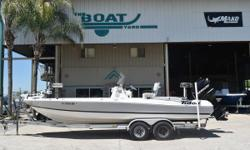 DRASTICALLY REDUCED 2009 Triton 24 LTS Marrero, LA 2007 Mercury Optimax 250 hp (100 Hours) 2009 Tandem Axel Aluminum Trailer Faced with 2 to 3 foot seas, most boats that offer skinny water access are likely to retreat to the dock or launch ramp. The