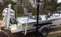 2010 Triton 2070SC All Aluminum hull Equipped with a 115hp Single Outboard DSC11 Evinrude E-Tec motor Currently with 90 hours on it! Details.- Prop - Stainless Steel Gas Tank - Built-in Batteries - 4 Charging System Trolling Motor - Minn Kota Terrova 80