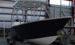 This Bonefish 23 Bay exudes quality. From its custom hard top/fly bridge,core hull, MMC controls to its custom trailer there is no doubt this is a custom built boat. Perfect as a flats boat, family cruiser or guide boat this represents an opportunity to