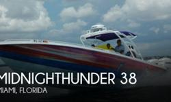 Actual Location: Hollywood, FL - Stock #071213 - If you are in the market for a fishing, look no further than this 2010 Midnighthunder 38, priced right at $94,500 (offers encouraged).This vessel is located in Hollywood, Florida and is in great condition.