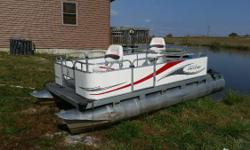 2010 GillGetter 615 Pontoon Get back to the basics with our traditional style Gillgetter Classic compact pontoon boats. Built with the same robust construction as our Qwest models, these little guys pack a world of fun and quality in an affordable small