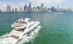 2010 Azimut 70 Flybridge Motor Yacht 2 SeaKeeper Stabilizers 1360 HP MANs - Only 775 Hours BRING ALL OFFERS Senisa is a perfect example of an extremely well cared for 70 Azimut Flybridge. Nearly every system on this vessel has been replaced or