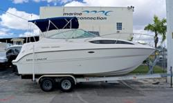 2010 Bayliner 245 Cruiser, Marine Connection: South Florida's #1 Boat Dealer! Cobia, Hurricane, Sailfish Pathfinder, Sportsman, Bulls Bay, Rinker & Sweetwater new boats plus the largest selection of pre-owned boats. View full details and 61 photos of this