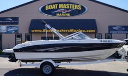 2010 Bayliner Bowrider 185 The 185 knows the way to fun and sun. It gets you there with two comfortable and convenient arrangements, astounding spaciousness, a sleek, no-glare dash and a host of options like an extended swim platform and Bayliner's