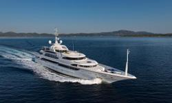 MINE GAMESis a 62 meter (203 ft.) Benetti motoryacht comprised of a steel hull with an aluminum superstructure. She was built to comply to BV, MCA and ABS A1 E AMS MCA standards. Notable features include an elevator that accesses all of the decks,