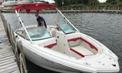 """Raft up to a rendezvous with other boats confidently knowing your 226 is top-of-the-line. Plan a weekend """"to do"""" list that excites every member of the family. Chaparral's sensational 226 SSi is a mega dose of everything that makes our Wide Tech design"""