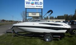 2010 Crownline 195 SS & 190HP 4.3L Inboard / Outboard. Motor Runs Great! This Open Bow Features, Front Bench Seating With Center Filler Seat Cushions And Storage, Full Walk Through Windshield, Rear Double Hinged Bench Seat With More Storage, Large Sun