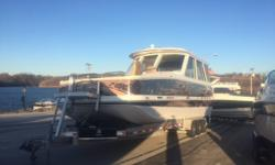 If you are looking for a versatile used boat, this is the boat for you. If you have been looking for a boat that has the room and stability of a pontoon but the performance of a speed boat, this is a must see. There?s not another boat on the water like