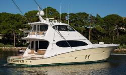 ACE OF DIAMONDS is the newest 77 Hatteras on the market today built in 2010 and has always been a non-fished yacht with all owners. There was a $400,000 refit done in 2018. She has numerous Hatteras custom changes, including:  Custom interior