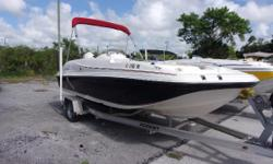 2010 Hurricane Sundeck Sport 188 OB.  Comes with a Evinrude E-Tec 115 and aluminum trailer.   Nominal Length: 18' Length Overall: 18' Beam: 8 ft. 6 in.