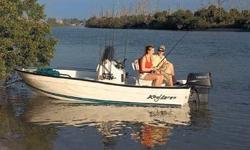 Powered by Yamaha 50 HP This is a beautiful boat. Has a 4stroke Yamaha 50HP. This is a great starter boat. This boat is great for the bay and going offshore. Engine(s): Fuel Type: Gas Engine Type: Other Draft: 0 ft. 7 in. Beam: 6 ft. 10 in.