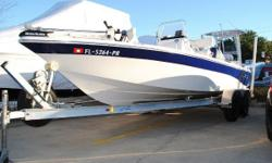 USED BAY BOAT AVAILABLE! This fishing machine is completely ready for action! Rigged with the most dependable outboard motor on the planet, the Yamaha F150 with 105 horsepower! The Yamaha F150 has been tried and trued! Also loaded with a Fish Finder GPS