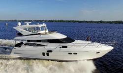 Just Reduced to $869,000 New EZ2CY Enclosure with Sliding Side Windows New Night Photos Perfect Caribbean Cruiser, Twin C15 Caterpillars with under 200hrs, 21kW Generator with 210hrs, Bow and Stern Thruster, Twin AC Chiller Units with 48k BTU Capacity,